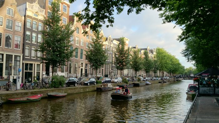 Canal Boat Gracht Bootje
