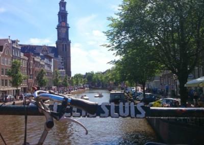 Amsterdam Private Bike Tour & Walking Tour