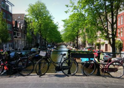 Amsterdam Private Bike Tour & Walking Tour